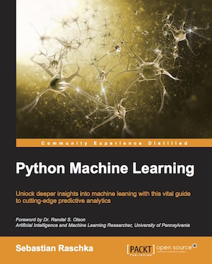 Writing 'Python Machine Learning'